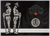 New Zealand - 2015 -  50c Commemorative Coin Pack - The Spirit Of ANZAC