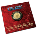 New Zealand - 2005 -  Brilliant Uncirculated Dollar Coin - King Kong