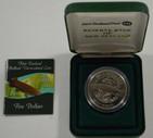 New Zealand - 2003 -  Brilliant Uncirculated $5 Coin - Giant Kokopu