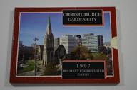 New Zealand - 1997 -  Brilliant Uncirculated $5 Coin - Christchurch - Garden City