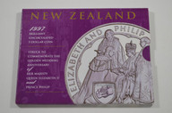 New Zealand - 1997 -  Brilliant Uncirculated $5 Coin - Golden Wedding Anniversary