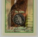 New Zealand - 1996 -  Brilliant Uncirculated $5 Coin - Kaka