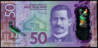 New Zealand - $50 - Orr - AA18 - First Prefix - Uncirculated