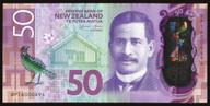 New Zealand - $50 - Polymer Banknote - Wheeler - BP16 000494