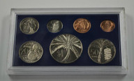Western Samoa - 1974 - Annual Uncirculated Coin Set