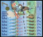 Fiji - $7 - Rugby 7s - 6 Consecutive Notes - AU0066255 - AU0066260 - Unc