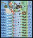 Fiji - $7 - Rugby 7s - 9 Consecutive Notes - AU0066292 - AU0066300 - Unc