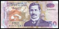 New Zealand - $50 Note - Brash - AU839962 - EF