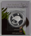 New Zealand - 2004 - Silver Dollar Proof Coin - Little Spotted Kiwi