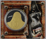 New Zealand - 2005 - Silver Dollar Proof Coin - King Kong