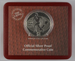New Zealand - 2005 - Silver Dollar Proof Coin - Lion's Tour