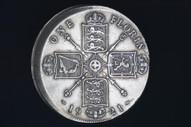 United Kingdom - 1921 - One Florin - Major Error - KM817a (OM-A2960)