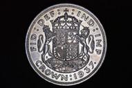 United Kingdom - 1937 - Crown - KM857 - Uncirculated (OM-A2973)