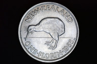 New Zealand - 1965 - Florin - KM28 - Almost Uncirculated