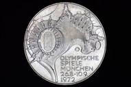 Germany - 1972 F - Ten Deutsche Mark - Olympic Games - KM133 - Unc (OM-A2987)