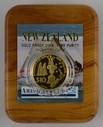New Zealand - 2002 - Gold $10 Proof Coin - America's Cup