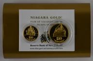 New Zealand - 2000 - Gold $10 Proof Coin Set - Niagara & Claymore