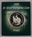 Australia - 1999 - Silver $1 Proof Coin - Silver Kangaroo