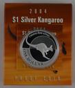 Australia - 2004 - Silver $1 Proof Coin - Silver Kangaroo