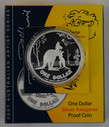 Australia - 2007 - Silver $1 Proof Coin - Silver Kangaroo