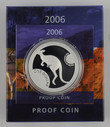 Australia - 2006 - Silver $1 Proof Coin - Silver Kangaroo
