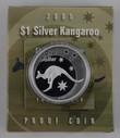 Australia - 2005 - Silver $1 Proof Coin - Silver Kangaroo