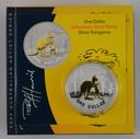 Australia - 2007 - Silver Gilt $1 Proof Coin - Kangaroo