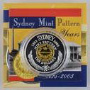 Australia - 2003 - Silver Gilt $10 Proof Coin - 1853 Pattern Gold Sydney Mint Sovereign