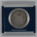 Australia - 2006 -  Silver $1 Antique Finish Proof Coin - 1758 Pillar Dollar
