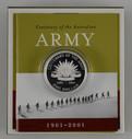 Australia - 2001 -  Silver $1 Proof Coin - Centenary Of The Australian Army