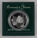 Australia - 2004 - Silver $5 Proof Coin - Bicentenary of Tasmania