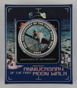 Australia - 2004 - Silver $1 Proof Coin - 35th Anniversary - Moon Walk