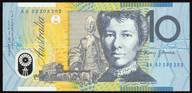 Australia - 2002 - $10 Polymer Note - AA02 202202 - First Prefix - Uncirculated