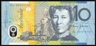 Australia - 2002 - $10 Polymer Note - GL02 879167 - Last Prefix - Uncirculated