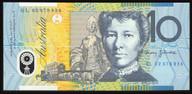 Australia - 2002 - $10 Polymer Note - GL02 878834 - Last Prefix - Uncirculated