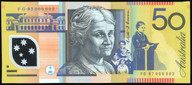 Australia - 1997 - $50 - Macfarlane-Evans- Low Number - FG97 0000002 - Unc
