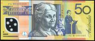 Australia - 1997 - $50 - Macfarlane-Evans- Low Number - FL97 0000002 - Unc