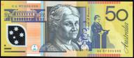 Australia - 1997 - $50 - Macfarlane-Evans- Low Number - GA97 0000002 - Unc