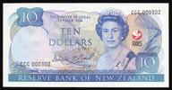 New Zealand - 1990 - $10 Commemorative Note - CCC000302 - aUnc