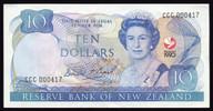 New Zealand - 1990 - $10 Commemorative Note - CCC000417 - aUnc