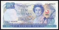 New Zealand - 1990 - $10 Commemorative Note - CCC000409 - aUnc