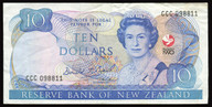 New Zealand - 1990 - $10 Commemorative Note - CCC098811 - Very Fine