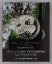 New Zealand - 2013 - Silver Dollar Proof Coin - Kiwi Treasures