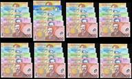 New Zealand - 1999-2008 - Banknote Sets (8) - Matching Serial #221