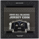 New Zealand - 2015 - Silver Dollar Proof Coin - All Blacks Jersey
