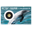 New Zealand - 2016 - Gold Dollar Proof Coin - Hector's Dolphin