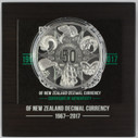 New Zealand - 2017 - Silver Dollar Proof Coin - 50 Years (Of Decimal Currency)