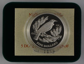 New Zealand - 1995 - Silver $5 Proof Coin - Tui