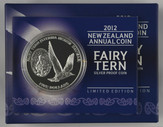 New Zealand - 2012 - Silver $5 Proof Coin - Fairy Tern