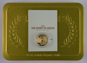 New Zealand - 2015 - Gold $10 Proof Coin - The Spirit of ANZAC